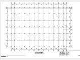 苏州某三层钢管桁架框架结构设计图(6度抗震,独立基础)图片1