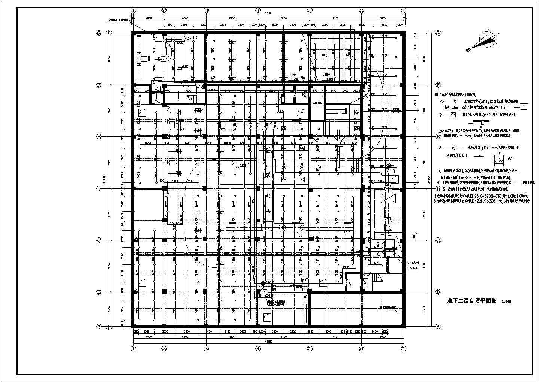 [浙江]7554.06�O多层办公楼给排水消防施工图(系统图全)图片1