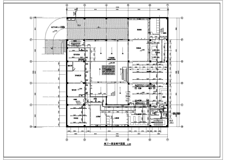 [浙江]7554.06�O多层办公楼给排水消防施工图(系统图全)图片2
