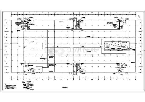 某57242㎡五层商业建筑电气施工图(二级负荷)-图一