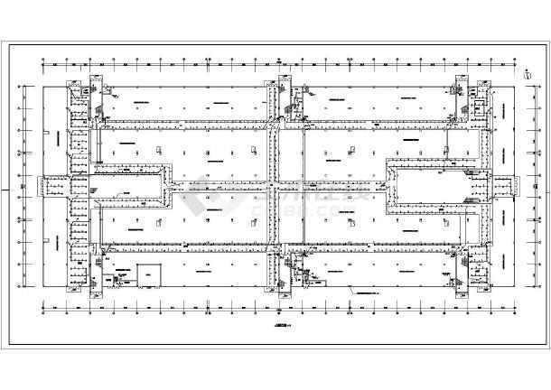 某57242㎡五层商业建筑电气施工图(二级负荷)-图二