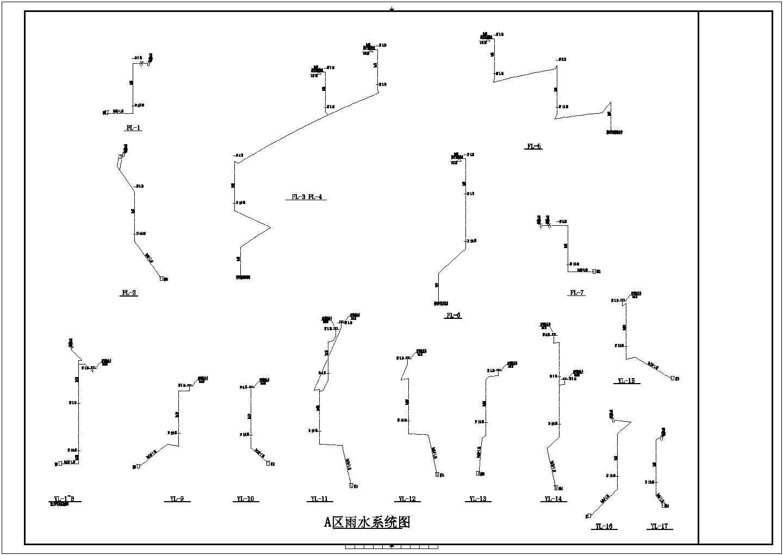 [上海]3900�O二层酒店给排水消防施工图(自动喷淋系统)图片1