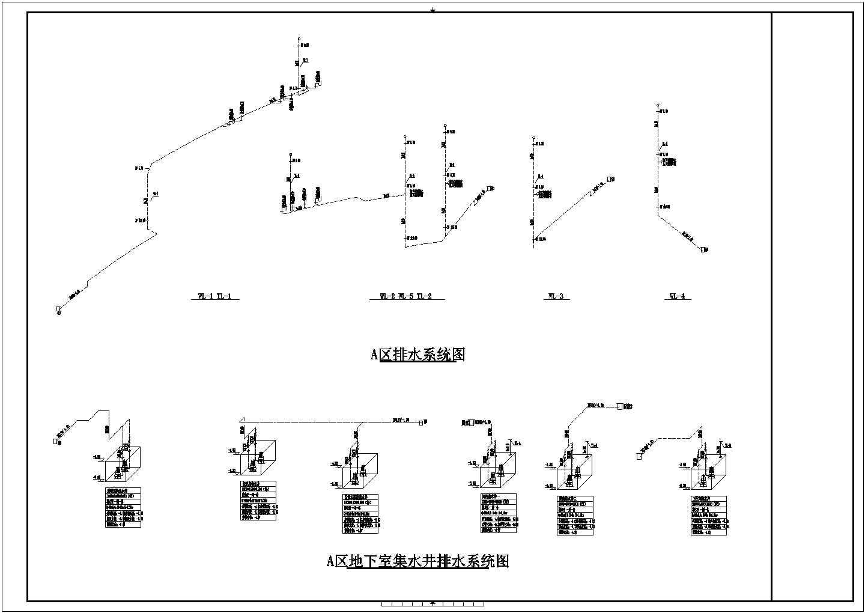 [上海]3900�O二层酒店给排水消防施工图(自动喷淋系统)图片2
