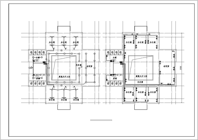 [四川]某有限公司地上三层办公楼电气施工图纸(二级负荷)图片3