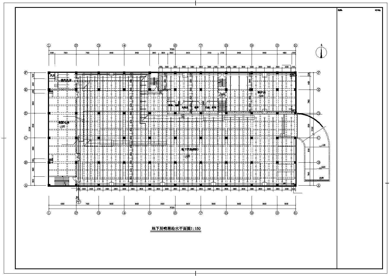 [江苏]24323.1�O五层公寓楼给排水消防施工图(同层排水直饮水系统)图片3