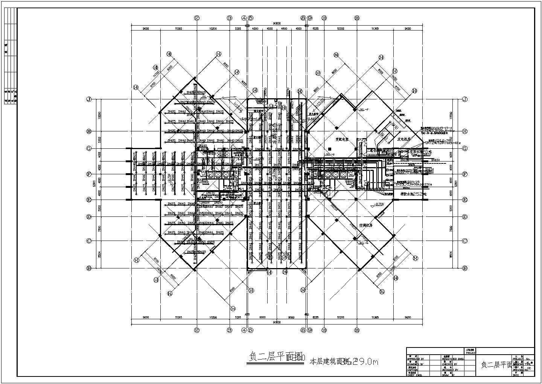 多层办公楼给排水及消防设计施工图(自动喷淋)图片2