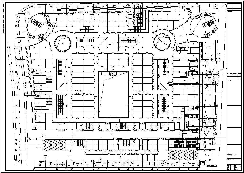 [江苏]7万平米二十五层综合楼给排水全套图纸(同层排水、全自动智能定位消防水炮系统)图片2