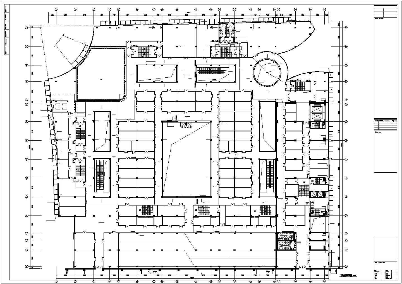 [江苏]7万平米二十五层综合楼给排水全套图纸(同层排水、全自动智能定位消防水炮系统)图片3