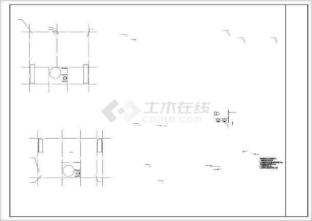 [贵州]二类公建及一类住宅给排水消防施工图(新规范)-图3