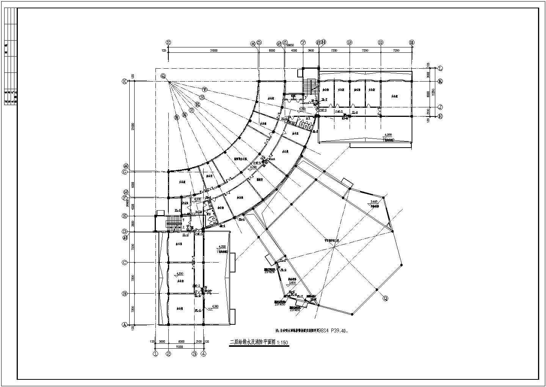 【内蒙古】某多层办公楼给排水及消防设计图图片2