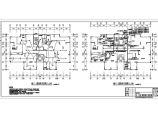 信阳某9940�O十八层住宅楼电气施工图纸(二类高层住宅楼)图片1