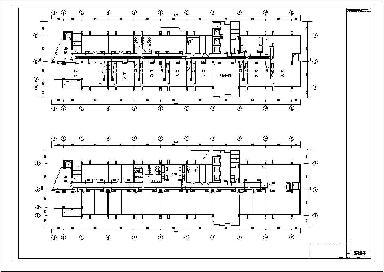 11层综合办公楼空调通风设计图全套图片1