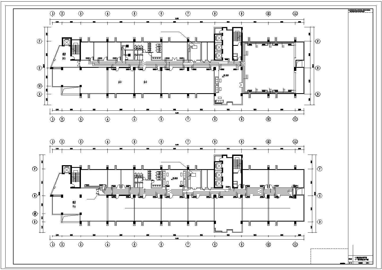 11层综合办公楼空调通风设计图全套图片2