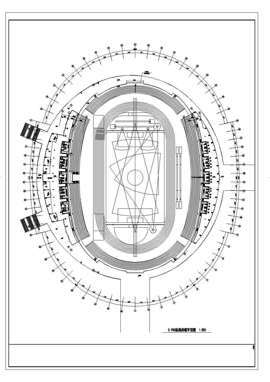 【山东】43710�O多层体育馆暖通空调及防排烟系统初设图图片1