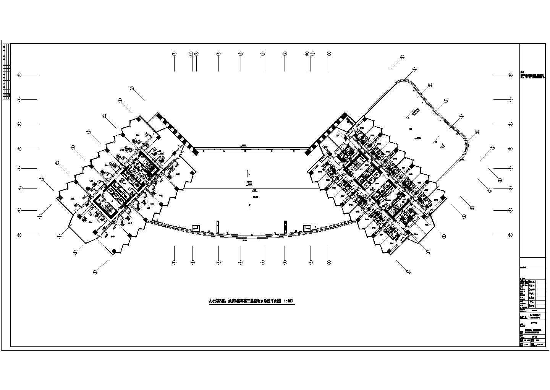 [新疆]103452�O二十三层酒店办公建筑暖通空调全套设计施工图纸(游泳池、冷热源机房、空调自控)图片3