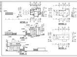 金华市某工具公司单层砖混结构大门建筑方案图(高7米)图片1