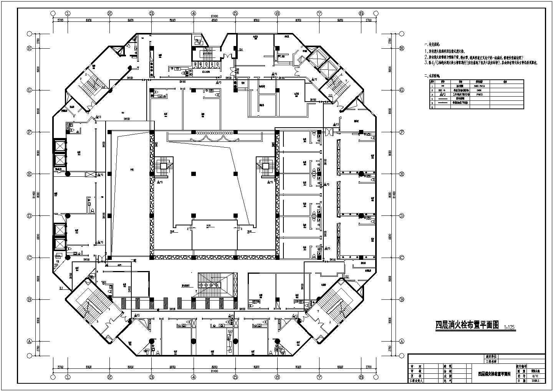 六层大型娱乐场所建筑给排水图纸图片3