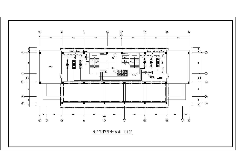 河南某12层综合办公楼空调通风施工图图片1