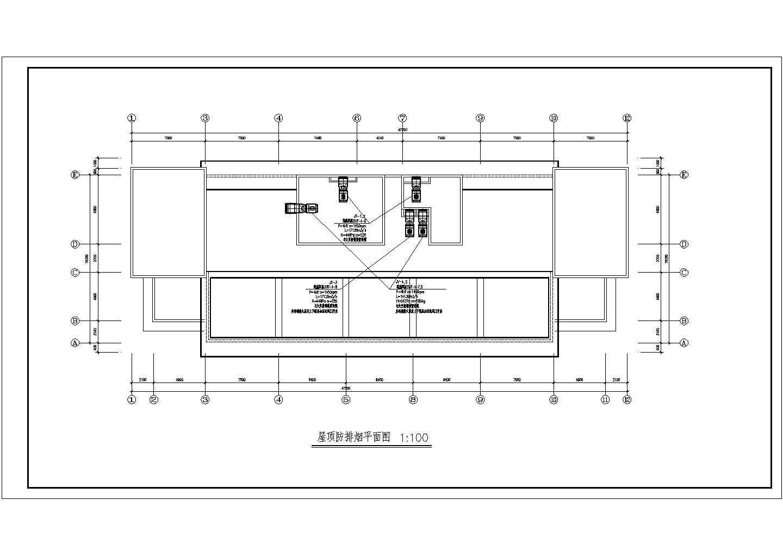河南某12层综合办公楼空调通风施工图图片3