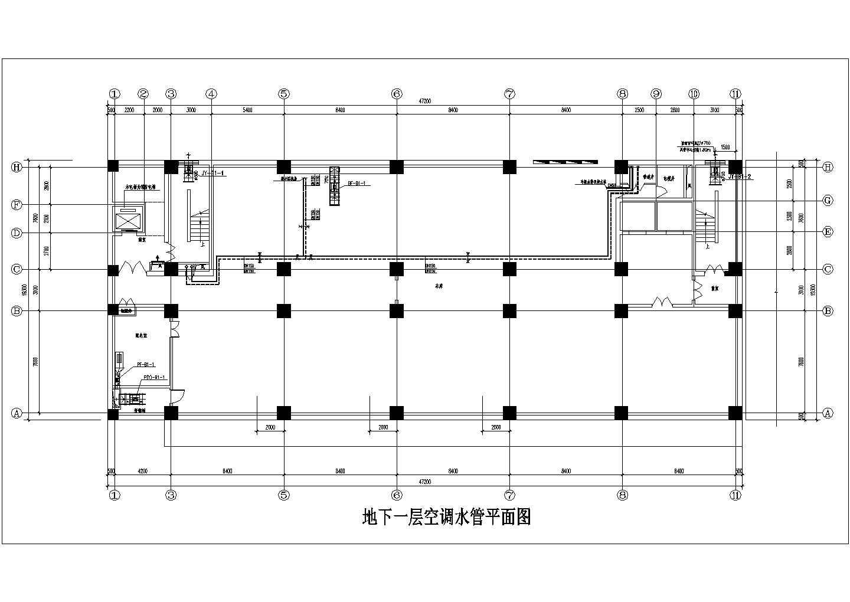 [山西]15683�O十六层综合办公楼空调通风施工图图片1