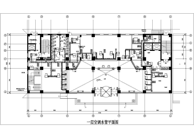 [山西]15683�O十六层综合办公楼空调通风施工图图片2