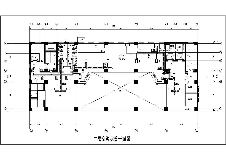 [山西]15683�O十六层综合办公楼空调通风施工图图片3