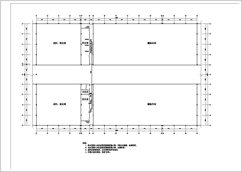 厂房中央空调全套施工图(含风机盘管安装图)图片3