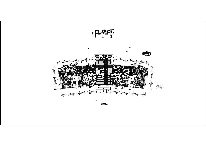 [安徽]23400�O五层大型医院应急照明系统设计图纸图片2