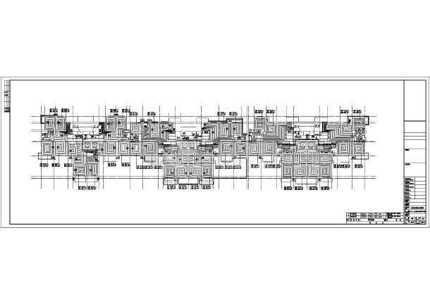 【石家庄】39745㎡广场商住楼采暖通风设计施工图-图二