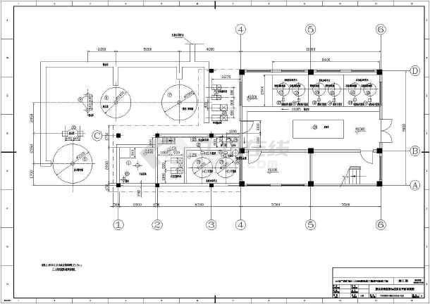 点击查看某电厂脱硫废水处理系统图纸第1张大图