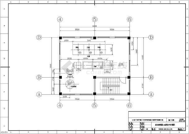 点击查看某电厂脱硫废水处理系统图纸第2张大图