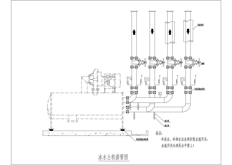 某31530�O生产厂房洁净空调系统设计施工图(含动力站)图片1