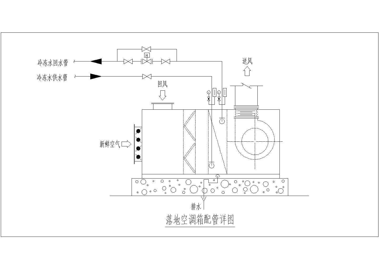 某31530�O生产厂房洁净空调系统设计施工图(含动力站)图片2