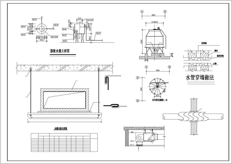 长沙某30134�O十三层综合办公楼空调系统设计图图片1