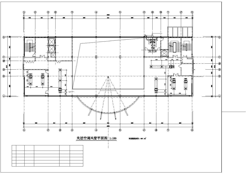 宜兴市某12864�O十层综合办公楼空调图纸图片2