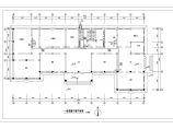 北京某3562�O地上四层中学采暖图纸(地板辐射采暖系统)图片1