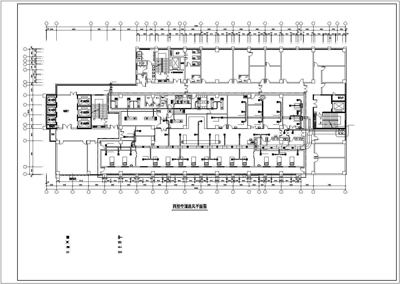 [湖南]医院科研楼科室洁净空调系统施工图(含医用气体)图片1