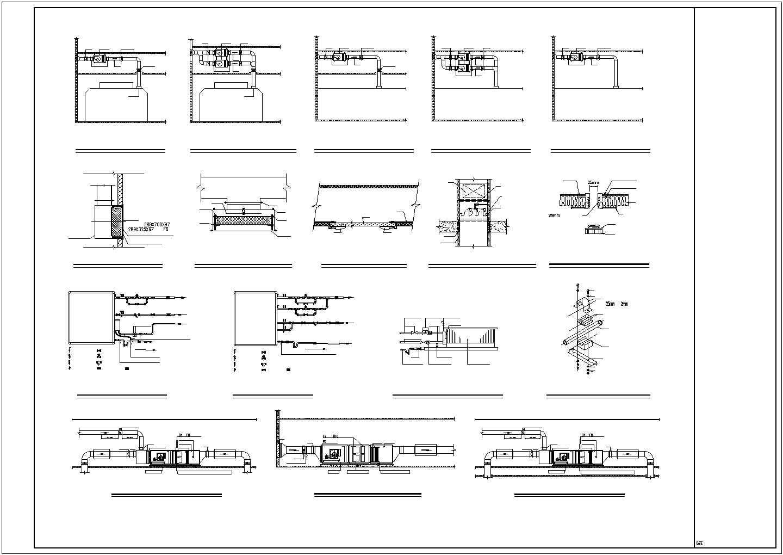 [湖南]医院科研楼科室洁净空调系统施工图(含医用气体)图片2