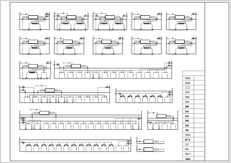 [湖南]医院科研楼科室洁净空调系统施工图(含医用气体)图片3