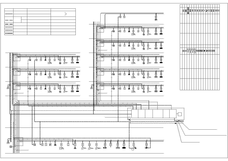[浙江]某四层研发科技城强电系统施工图纸(含建筑立面图)图片1