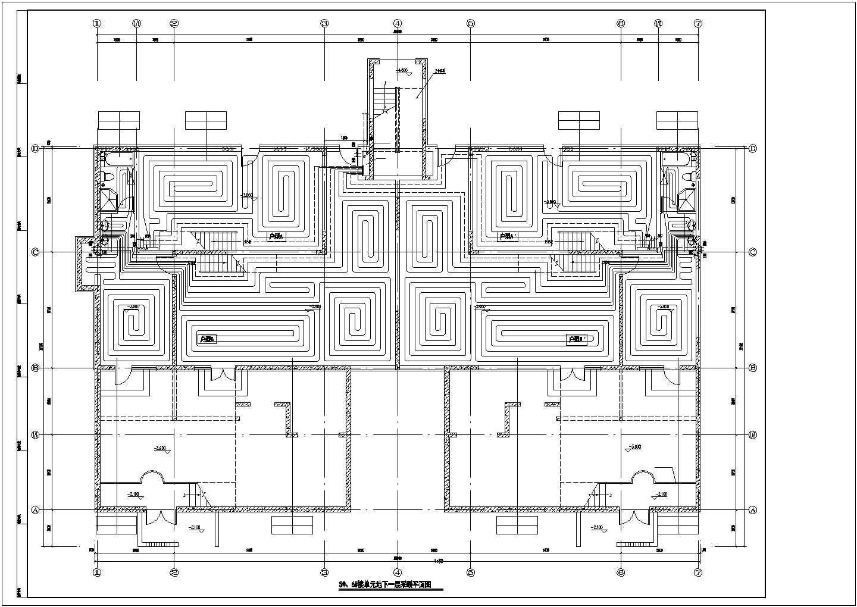 [山东]28951�O跃层住宅建筑采暖及通风系统设计施工图(含负荷计算书)图片1