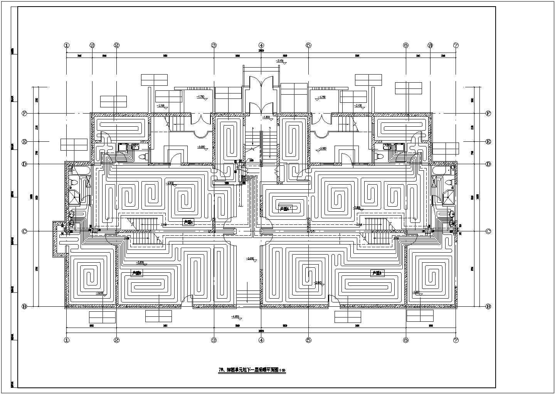[山东]28951�O跃层住宅建筑采暖及通风系统设计施工图(含负荷计算书)图片2