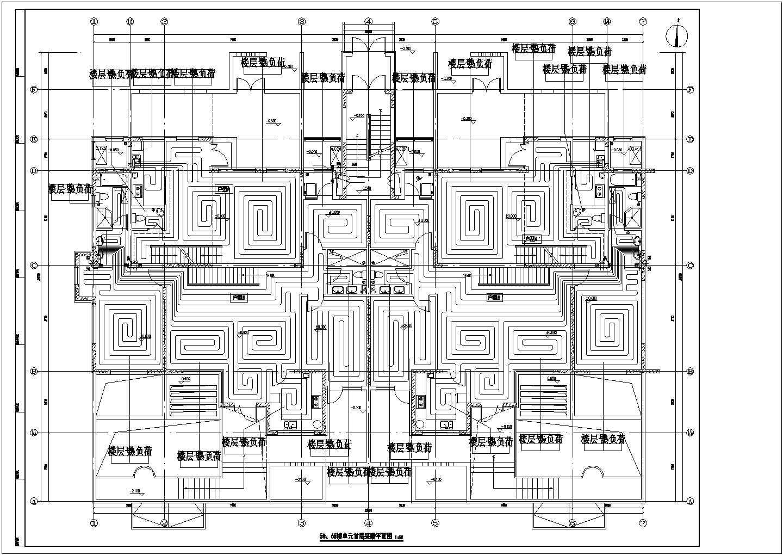 [山东]28951�O跃层住宅建筑采暖及通风系统设计施工图(含负荷计算书)图片3