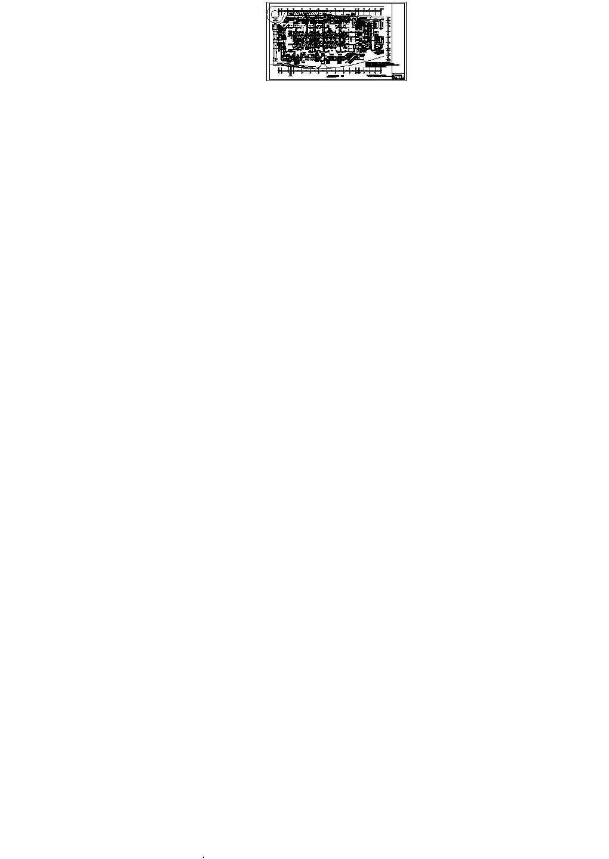 [福建]86390�O二十四层大型火车站广场停车场空调通风与防排烟系统设计施工图(人防设计)图片1