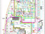 某儿童福利院避灾广场管线综合图纸图片1