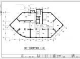 某7600�O十一层商住楼散热器及地板辐射采暖系统设计施工图图片1