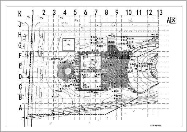 [湖北]城市游园园林景观工程施工图-图2