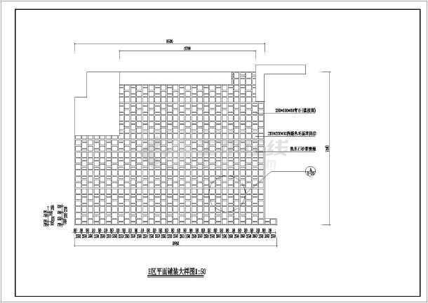 [杭州]居住区园林景观工程施工图-图2