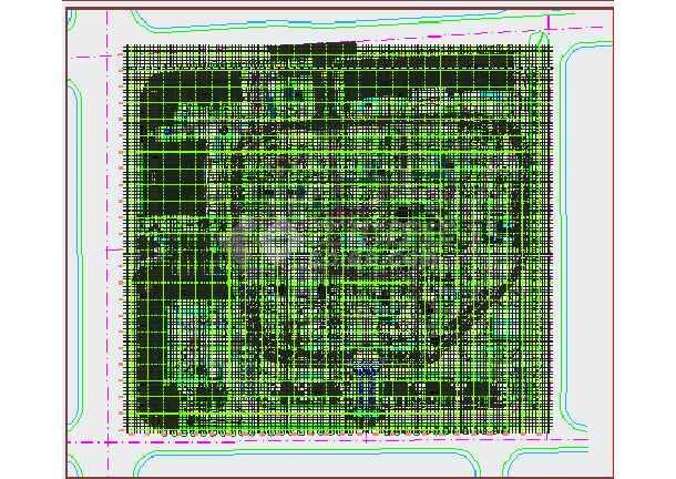 [杭州]住宅小区园林景观绿化种植施工图-图2