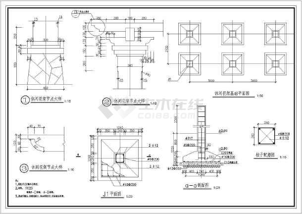 点击查看[厦门]居住区园林景观工程铺装设计施工图第1张大图
